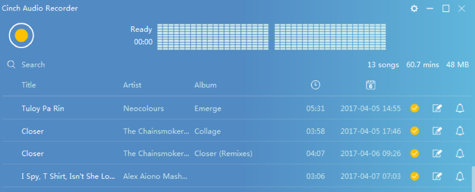 music download check