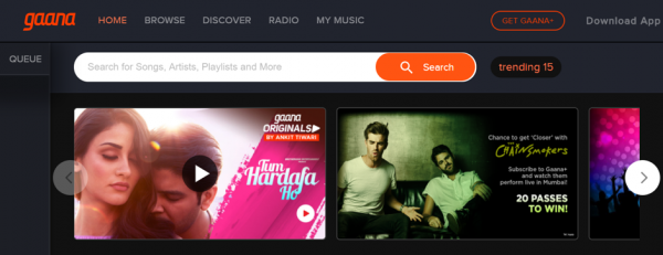 How can I download Songs from Gaana in MP3 format?
